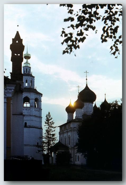 Небольшой провинциальный городок в Ярославской области.