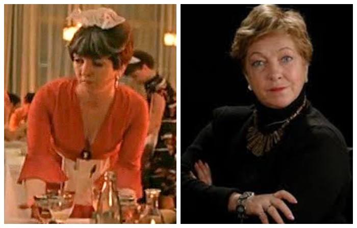 Советская актриса, сыгравшая официантку из ресторана, запомнилась зрителям яркой игрой и полным раскрытием своего образа.