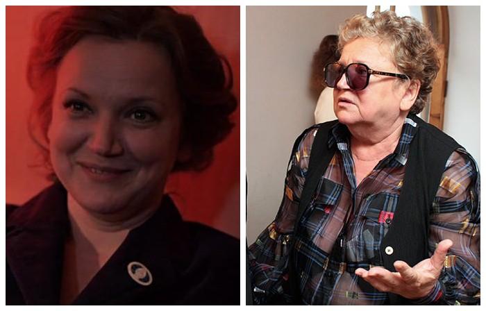 В багаже советской актрисы театра и кино есть маленькая роль - дежурная Юля, которая работает в «Интуристе».