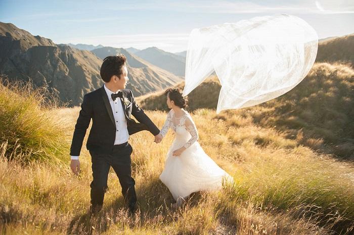 Самые необычные и запоминающиеся места для свадебных фотографий.