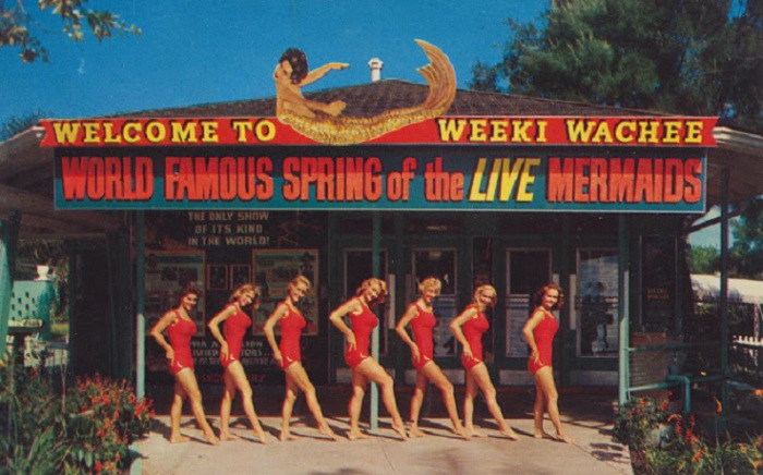 Одна из старейших придорожных достопримечательностей жаркого штата Флорида, (США).