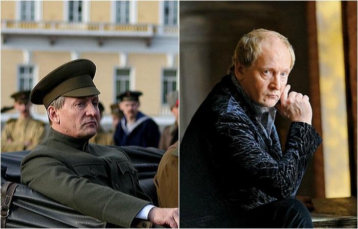 Зрителям заслуженный артист Узбекистана запомнился по работе в киноленте, где сыграл Керенский Александр Фёдорович.