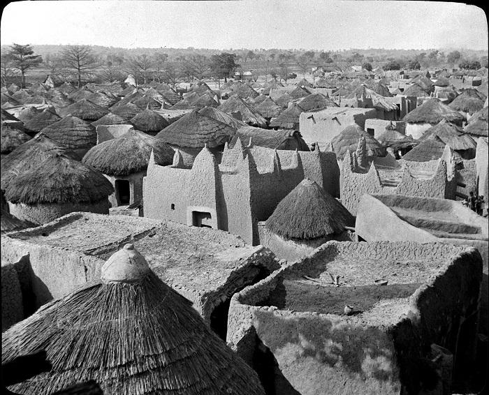 Старый город в Кот-Дивуаре.