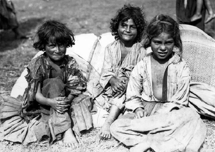 Дети из Вестфалии. Германия, 1930 год.