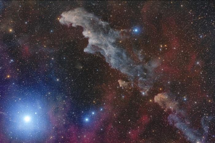 Туманность в созвездии Эридана.