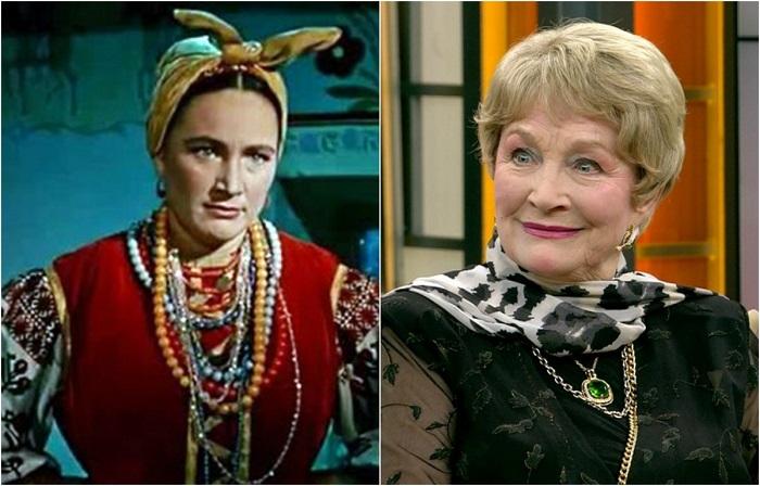 Российская актриса театра и кино успешно исполнила роль обворожительной Солохи, матери главного героя фильма кузнеца Вакулы и деревенской ведьмы.
