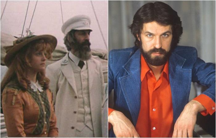 Борис Алексеевич был утвержден на роль пропавшего капитана Гарри Гранта.