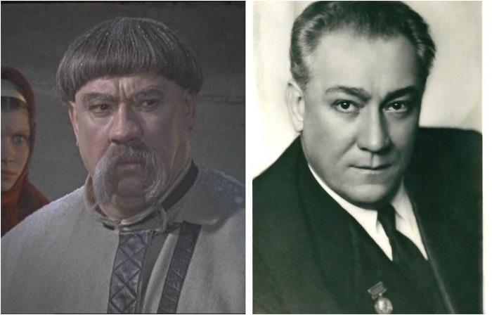 Советский актер любил исполнять сказочные и комедийные роли, поэтому с радостью согласился перевоплотиться на экране в богатого и важного казака Чуба, отца красавицы Оксаны.