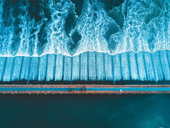 Категория «Вид сверху», автор снимка – фотограф Том Свитман (Tom Sweetman) из Великобритании.