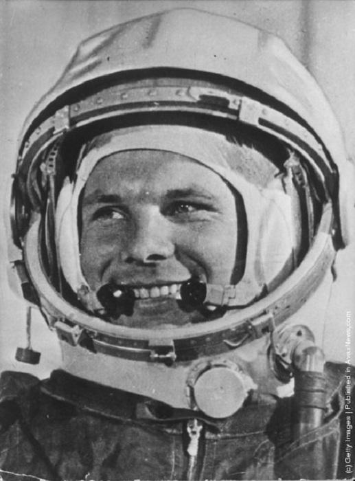 Защитный скафандр первого космонавта.
