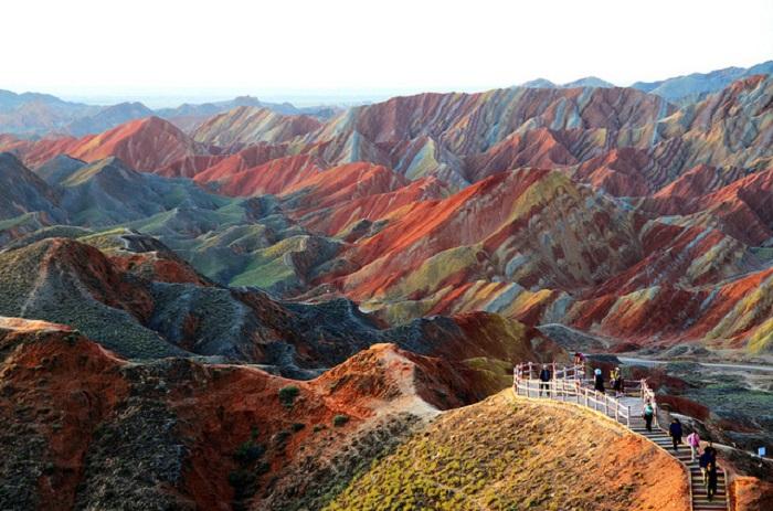 Одно из самых удивительных природных чудес Китая.
