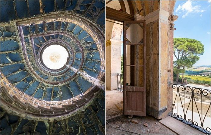 Красивые интерьеры старинных заброшенных домов Европы.