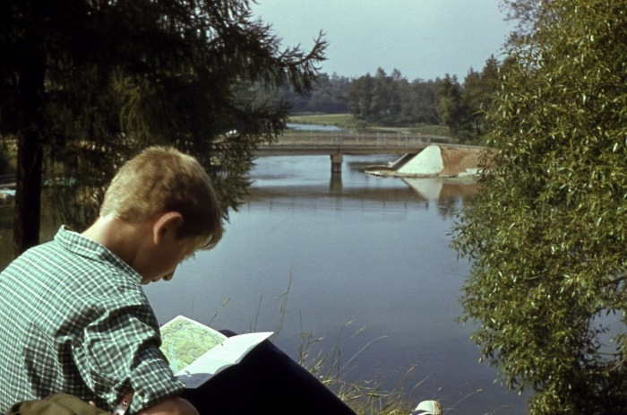 Самое тихое место у пруда.