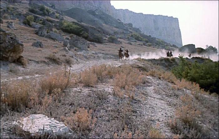 «Дикие западные» прерии обустроили в Белогорском районе Крыма, у села Белая Скала