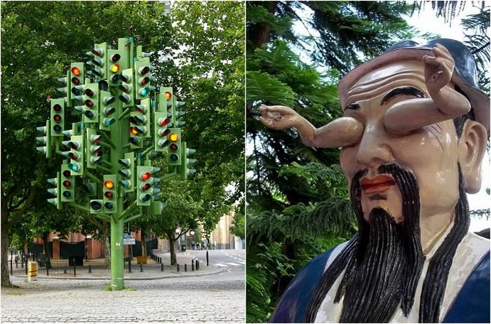 Невероятные памятники и скульптуры со всего мира.