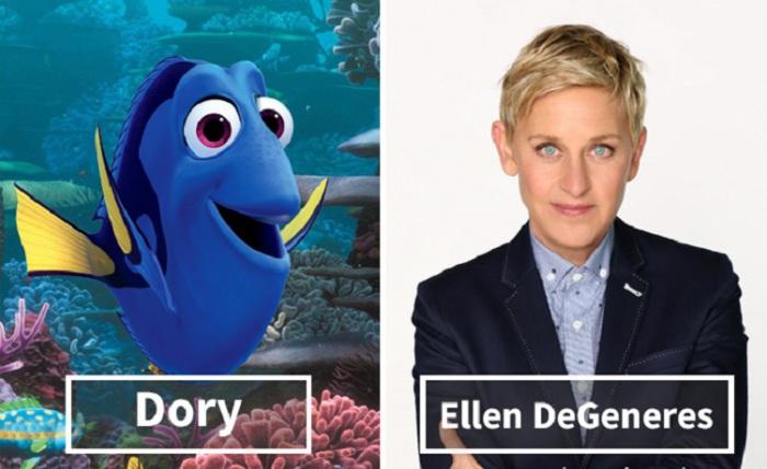 Дори - Эллен ДеДженерес (Ellen Lee DeGeneres).
