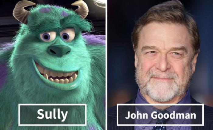 Салли - Джон Гудман (John Goodman).