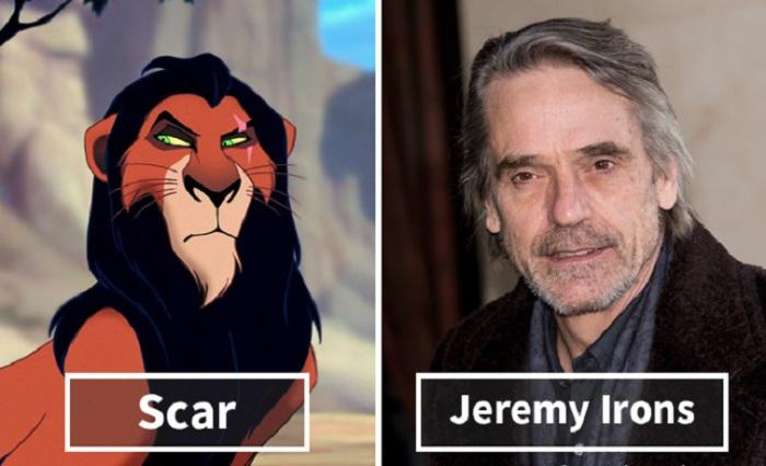 Скар - Джереми Айронс (Jeremy Irons).