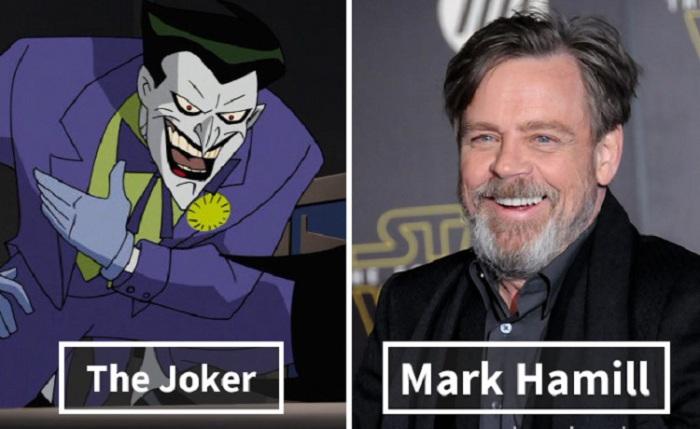 Джокер - Марк Хамилл (Mark Hamill).
