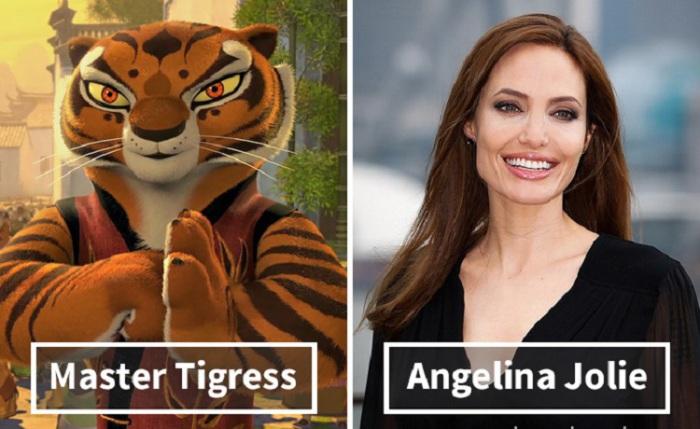 Мастер Тигрица - Анджелина Джоли (Angelina Jolie).