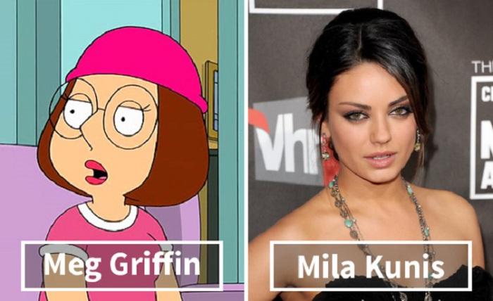Мэг Грифффин - Мила Кунис (Mila Kunis).