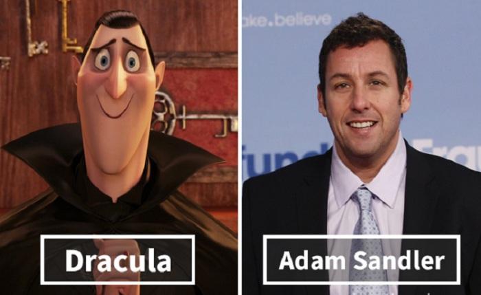 Дракула - Адам Сэндлер (Adam Sandler).