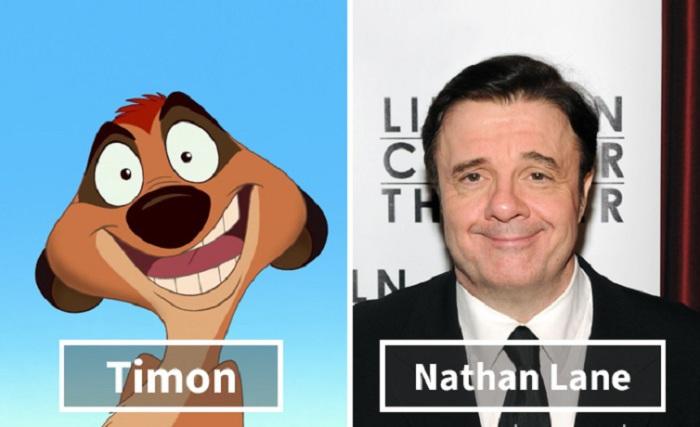 Тимон - Натан Лейн (Nathan Lane).