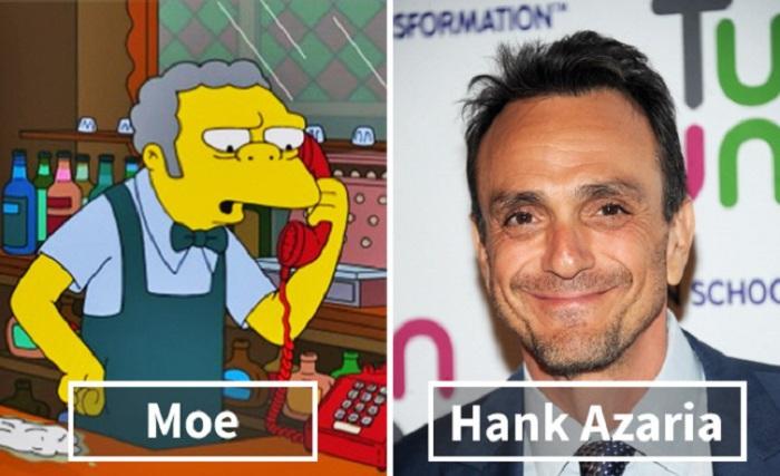 Мое - Хэнк Азария (Hank Azaria).
