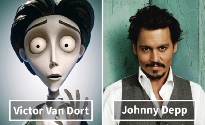 Виктор ван Дорт - Джонни Депп (Johnny Depp).