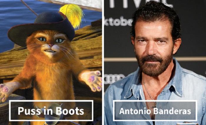 Кот в сапогах - Антонио Бандерас (Antonio Banderas).