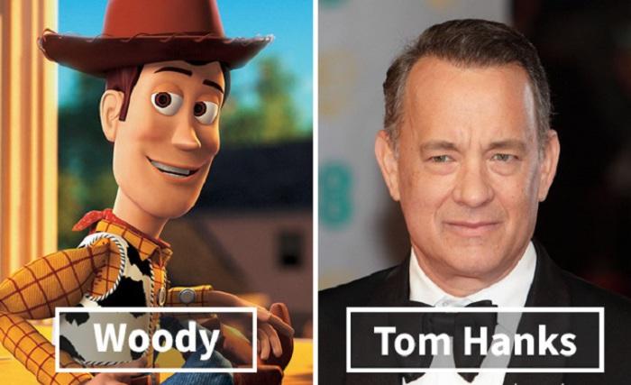 Вуди - Том Хэнкс (Tom Hanks).