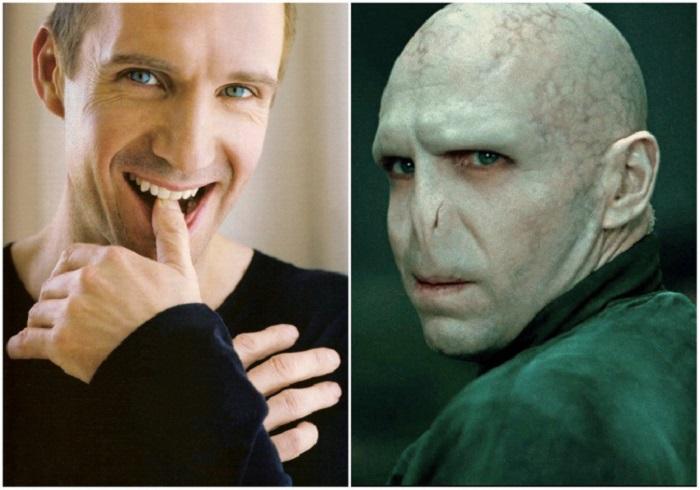 Яркий образ знаменитых актёров, которых грим изменил до неузнаваемости.