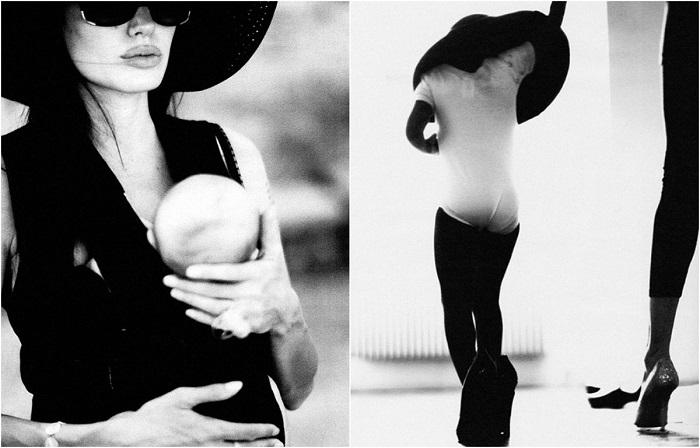 Анджелина Джоли в объективе Брэда Питта.