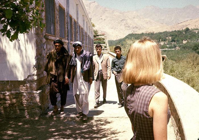 Американская туристка в Кабуле.