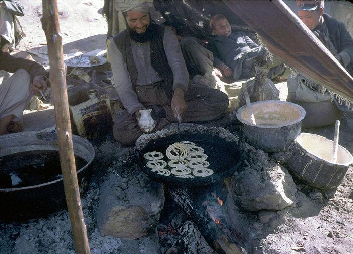 Джелаби - один из национальных десертов Афганистана.