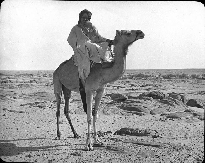 Житель народа группы берберов в Мали.