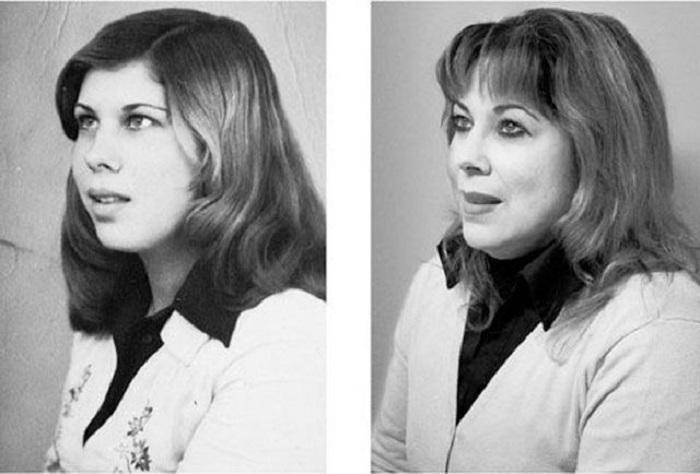 Как оказывается, внешне женщина практически не изменилась.