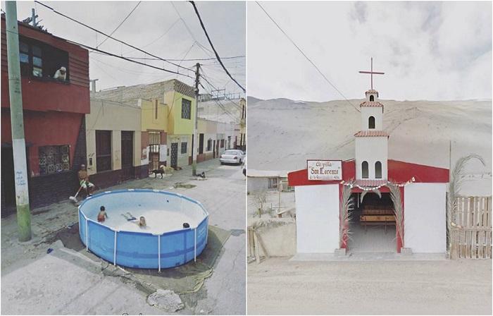 Снимки из путешествий, созданные не выходя из дома.