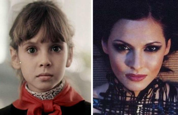 После роли очаровательной Машы Старцевой в детском фильме «Приключения Петрова и Васечкина» карьера актрисы пошла вверх, а сейчас Инга - уважаемый историк искусства.