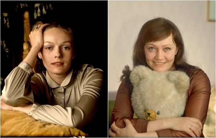 Фотопортреты известных советских актрис в молодости.