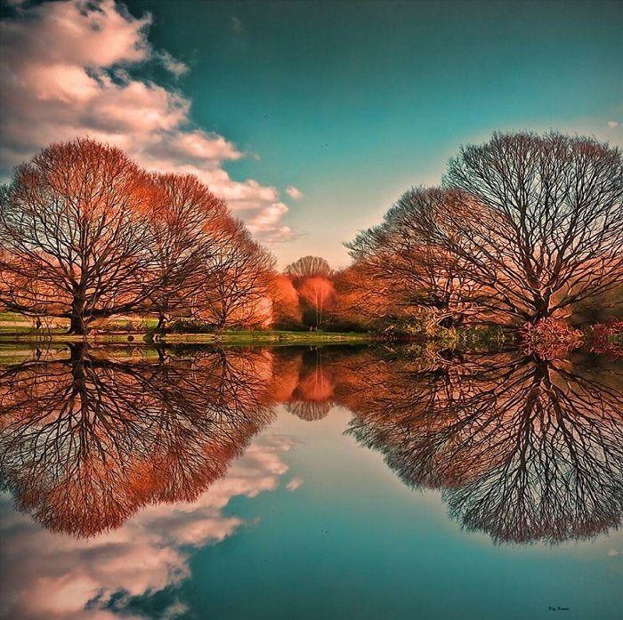Гайд-парк, расположенный в Лондоне, самое любимое место отдыха его жителей.