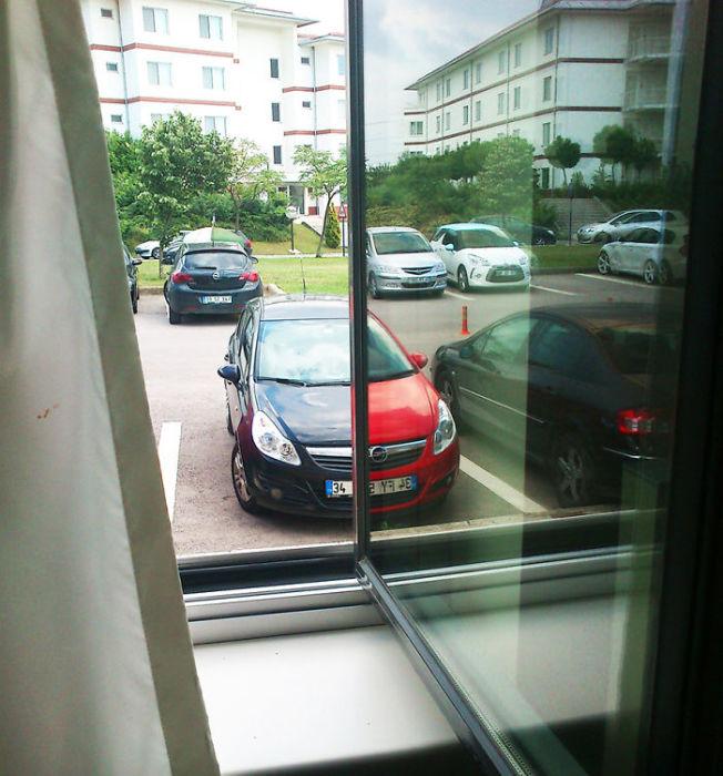 Ошибка в восприятии цветовой гаммы машины.