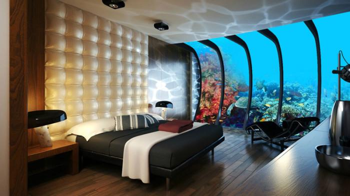 Захватывающий и уникальный подводный отель в Дубае.