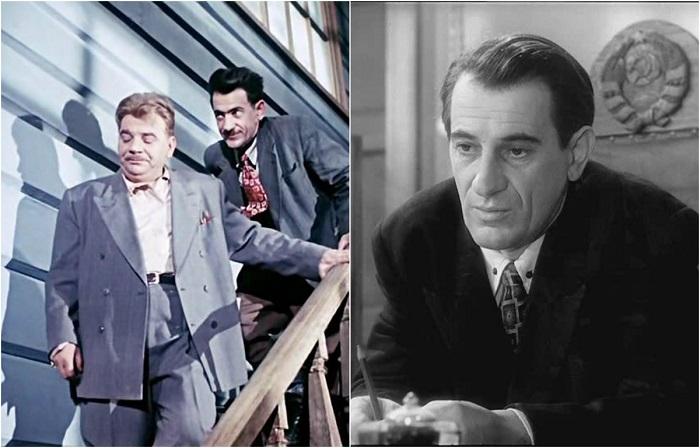 За время своей актерской карьеры артист снялся в нескольких фильмах и большинство ролей были второстепенные, например - заместитель Неходы.