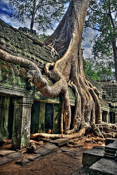 Храм Ангкор Ват, Камбоджа.