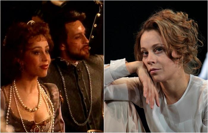 Актриса наиболее известна по ролям в фильмах «Хочу вашего мужа», «Ночной дозор», «Девять неизвестных», «Счастливый», а в «Графиня де Монсоро» - сыграла Габриэль де Ториньи.
