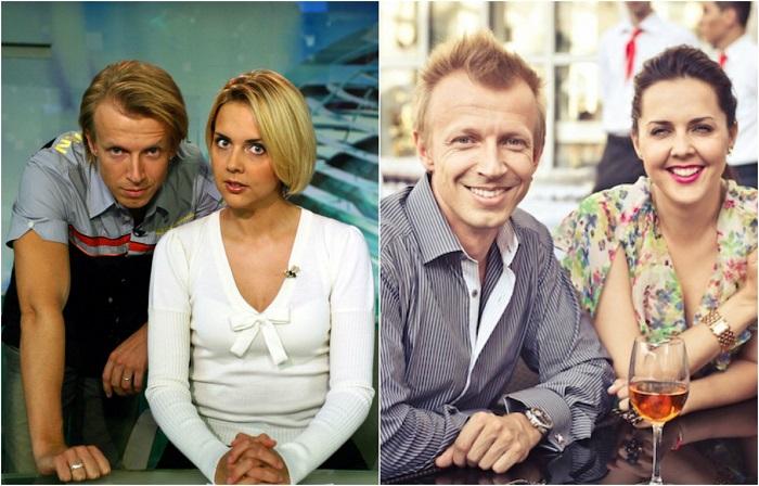 Ольга вместе с Антоном Комоловым в 1999 году вели программу «Бодрое утро».