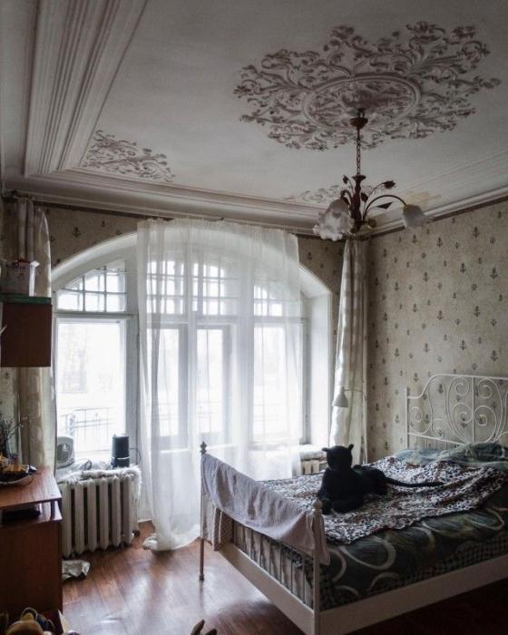 Отреставрированное помещение.