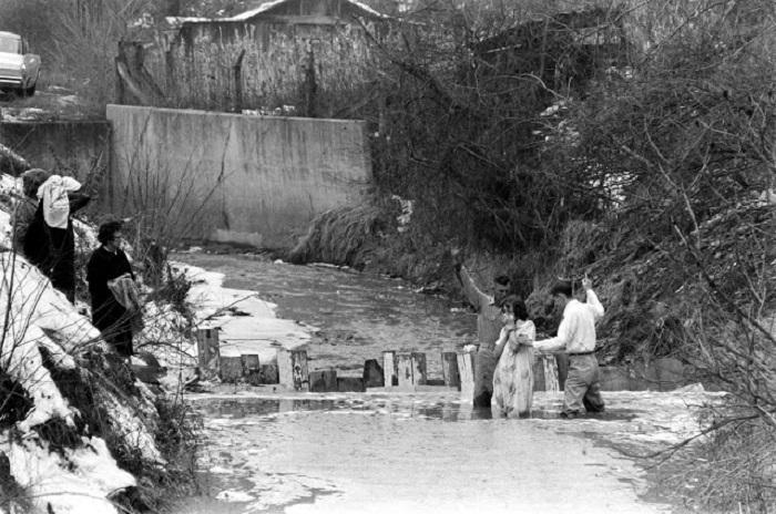 Вода в реках Аппалачей настолько загрязнена, что небезопасна даже для промышленного применения.
