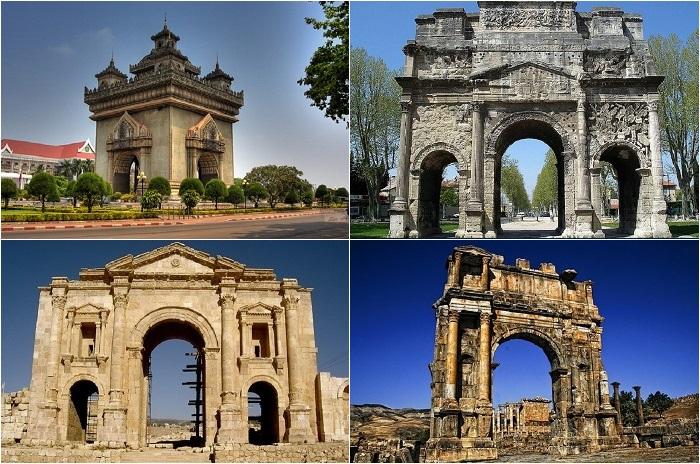 Известные триумфальные арки.